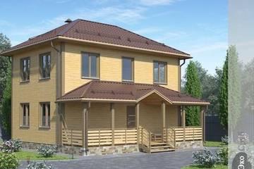 Дом из бруса 9x8 Д-19